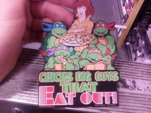 Chicks Dig Guys that Eat Out