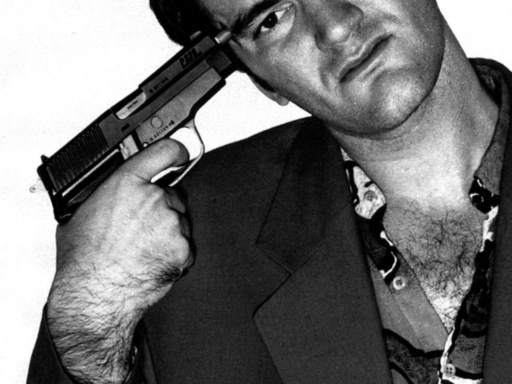 Tarantino with Gun