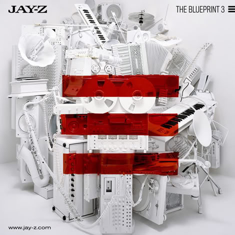 Jay-Z - The Blueprint 3 (album cover)