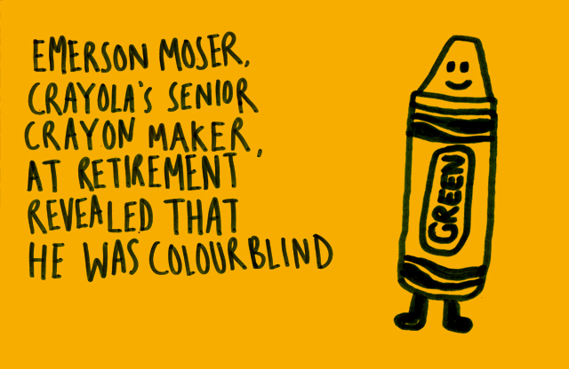 Colorblind Crayola