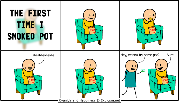 The First Time I Smoked Pot""